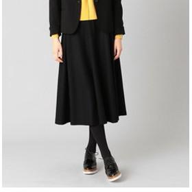 【LUMINOSO COMMECA:スカート】フラノ フレア スカート