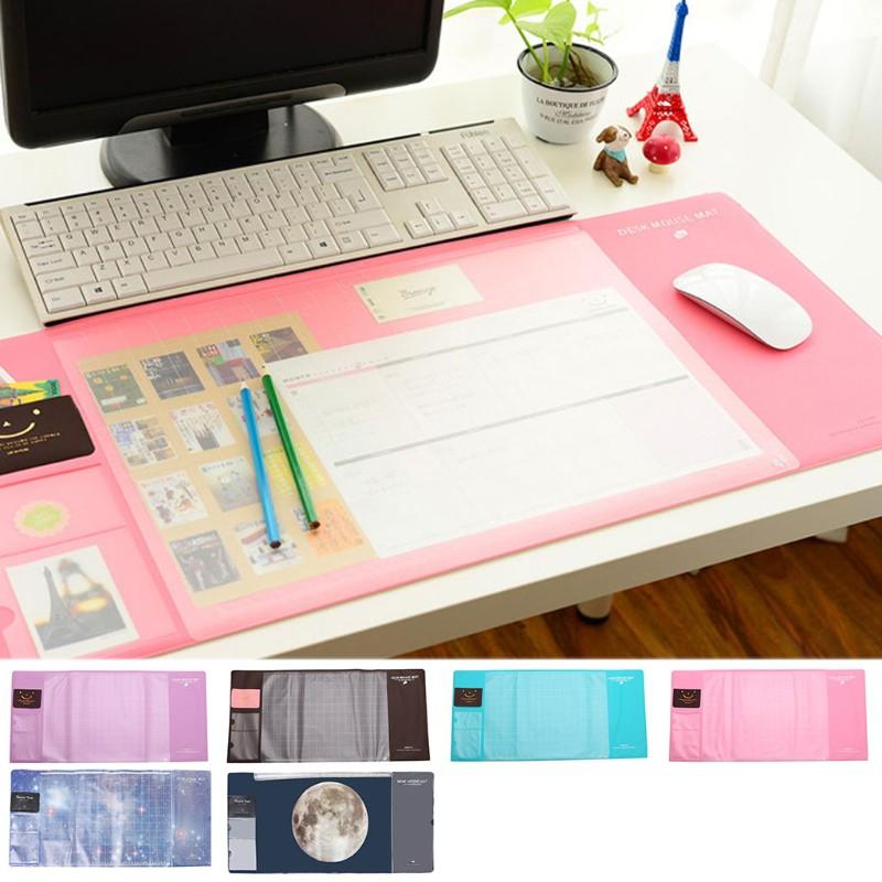 PVC防水防滑大尺寸辦公桌電腦筆記本鼠標墊保護墊