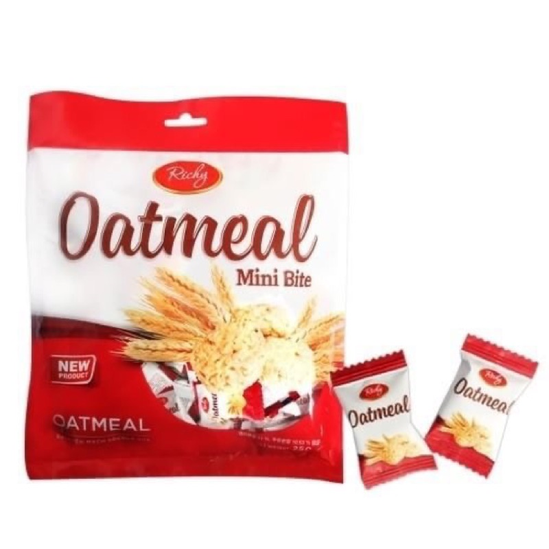 【韓國連線-Oatmeal 燕麥餅乾250g】