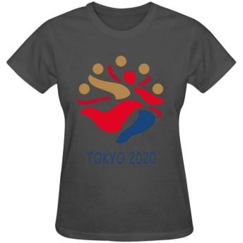 TingTingBoxレディース 半袖 tシャツ プリント 東京 2020 100%綿 快適 オリジナルトップス 上着 ギフト 綺麗