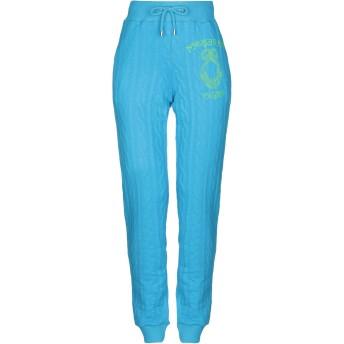 《セール開催中》MOSCHINO レディース パンツ アジュールブルー XXS ポリエステル 60% / コットン 40% / 指定外繊維