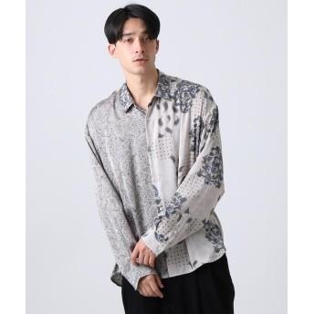 tk.TAKEO KIKUCHI(ティーケー タケオ キクチ) マルチペイズリービッグシャツ