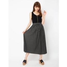 【CECIL McBEE:スカート】カットプリーツスカート