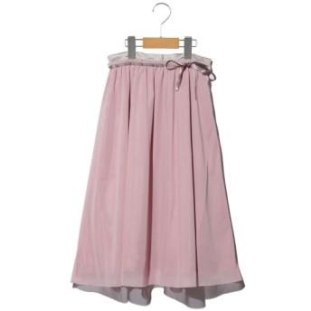 50%OFF plume blanche (プリュムブランシュ) 【レディース】チュールスカート ピンク