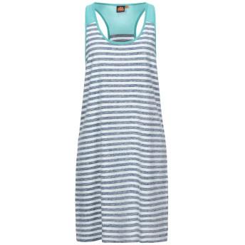 《セール開催中》SUNDEK レディース ミニワンピース&ドレス ブルー XL コットン 100%