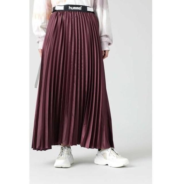 ROSE BUD / ローズ バッド <hummel×CREOLME>プリーツスカート