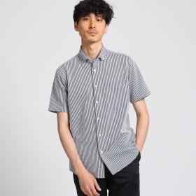 TAKEO KIKUCHI(タケオキクチ:メンズ)/シアサッカーストライプ ジャージシャツ