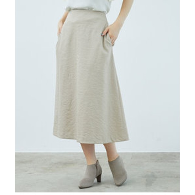 【ROPE' PICNIC:スカート】トラぺーズスカート