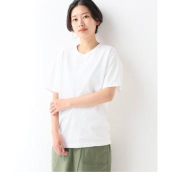 (JOURNAL STANDARD relume/ジャーナルスタンダード レリューム)【LA APPAREL / ロサンゼルスアパレル】8.5oz ShortSleeve Binding GDT:Tシャツ/レディース ホワイトA