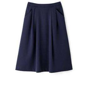 【HUMAN WOMAN:スカート】◆ニットデニーロスカート