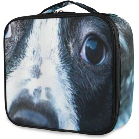 TARTINY 化粧ポーチ 大容量 機能的 メイクポーチ 旅行 トラベル 化粧品収納バッグ 撥水 軽量 複数のスタイル 水の中の犬 コスメケース コスメバッグ メイクボックス