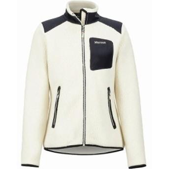 (取寄)マーモット レディース ウィリー フリース ジャケット Marmot Women Wiley Fleece Jacket Cream/Black