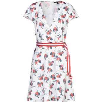 《セール開催中》ARMANI EXCHANGE レディース ミニワンピース&ドレス ホワイト 6 ポリエステル 98% / ポリウレタン 2%