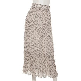 MAX70%OFF archives (アルシーヴ) ペイズリーワッシャープリーツスカート オフホワイト