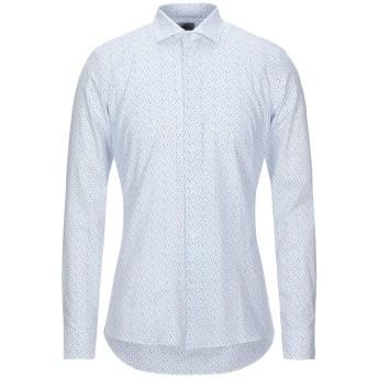 《セール開催中》ALEA メンズ シャツ ホワイト 40 コットン 100%