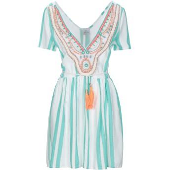 《セール開催中》AMO レディース ミニワンピース&ドレス ライトグリーン S 紡績繊維