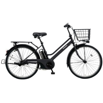 26型 電動アシスト自転車 ティモ・S(マットジェットブラック/内装3段変速) BE-ELST635B【2020年モデル】