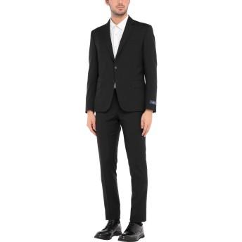 《セール開催中》ERMENEGILDO ZEGNA メンズ スーツ ブラック 48 ウール 100%