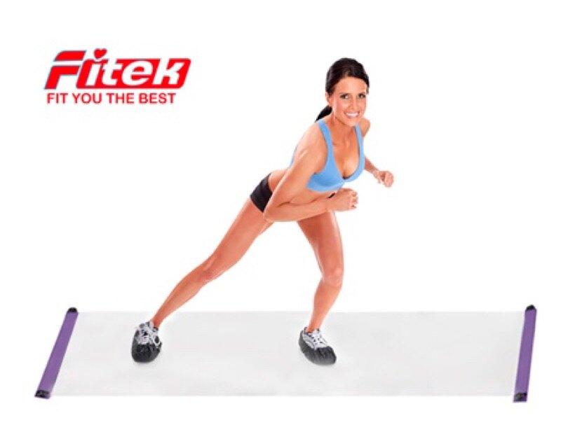 【滿$3,000領券再折$250】綜合訓練墊[專業加長款 長度243公分]滑板墊溜冰訓練墊360Slide Board【Fitek健身網】