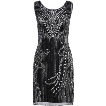 《セール開催中》COUTURE-CLUB レディース ミニワンピース&ドレス ブラック 40 ポリエステル 100%