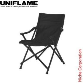 ユニフレーム UFチェア100 オールブラック UNIFLAME 680339 キャンプ イス 椅子 おりたたみ アウトドア 折りたたみ 折り畳み 黒