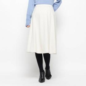 SOFUOL(ソフール)/<DREAM STYLE>ウォームピンストライプフレアスカート