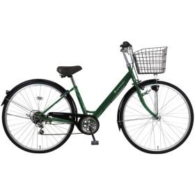 27型 自転車 リブレットシティ 276-B(ダークグリーン/6段変速)MK-20-060【2020年モデル】