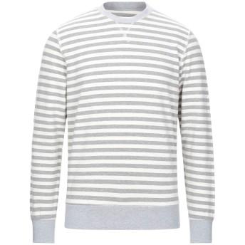 《セール開催中》CIRCOLO 1901 メンズ スウェットシャツ アイボリー M コットン 72% / リネン 28%