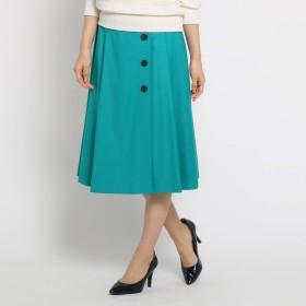 SunaUna(スーナウーナ)/【洗える】ボタンラップ風スカート
