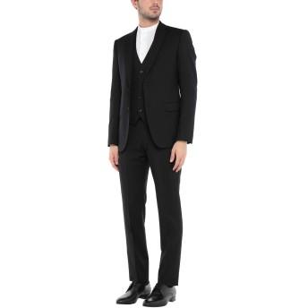 《セール開催中》ARMANI COLLEZIONI メンズ スーツ ブラック 52 バージンウール 100%