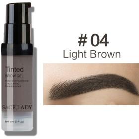 プロフェッショナルメイクアップ液体眉毛染め防水性と耐久性、退色しにくい