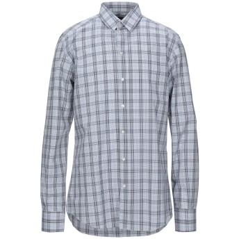 《セール開催中》DOLCE & GABBANA メンズ シャツ グレー 39 コットン 100%