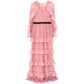 《セール開催中》PERSEVERANCE レディース ロングワンピース&ドレス ピンク 8 ナイロン 100%