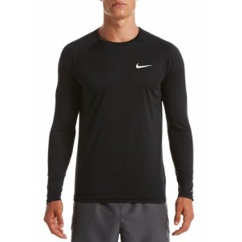 ナイキ Nike メンズ ラッシュガード 水着・ビーチウェア Essential Long Sleeve Hydro Rash Guard Black