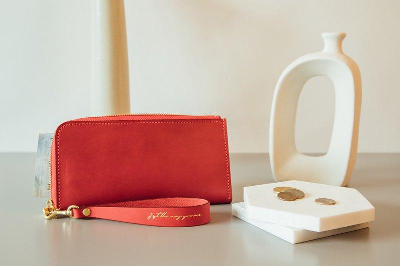 【手作課程 - L型拉鍊長夾】 皮夾 | 錢包 | 客製 | 禮物 | 情人