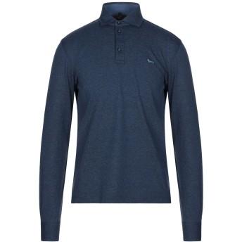 《セール開催中》HARMONT & BLAINE メンズ ポロシャツ ブルー S コットン 100%
