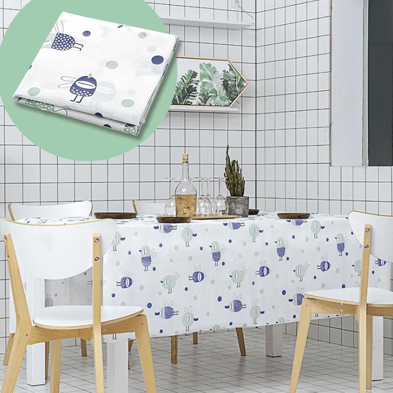 桌巾是最能改變餐桌風格的一項時尚小配件,時尚PEVA北歐風桌布,防水防燙,耐汙抗髒,手感滑順,清洗容易不費力,色澤鮮豔,比起布桌巾更有著滿滿的優點,讓你的家因為你的裝扮而更加溫馨~