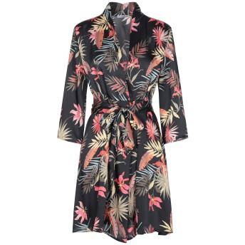 《セール開催中》HOPE COLLECTION レディース ミニワンピース&ドレス ブラック L ポリエステル 100%