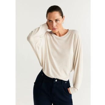 Tシャツ - CALEN (パステルブラウン)