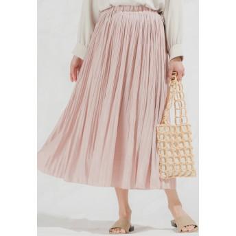 MAYSON GREY メイソングレイ 【socolla】消しプリーツスカート その他 スカート,ピンク