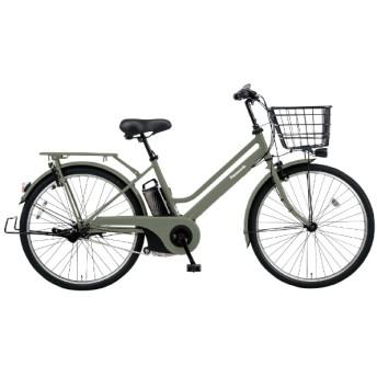26型 電動アシスト自転車 ティモ・S(マットオリーブ/内装3段変速) BE-ELST635G2【2020年モデル】