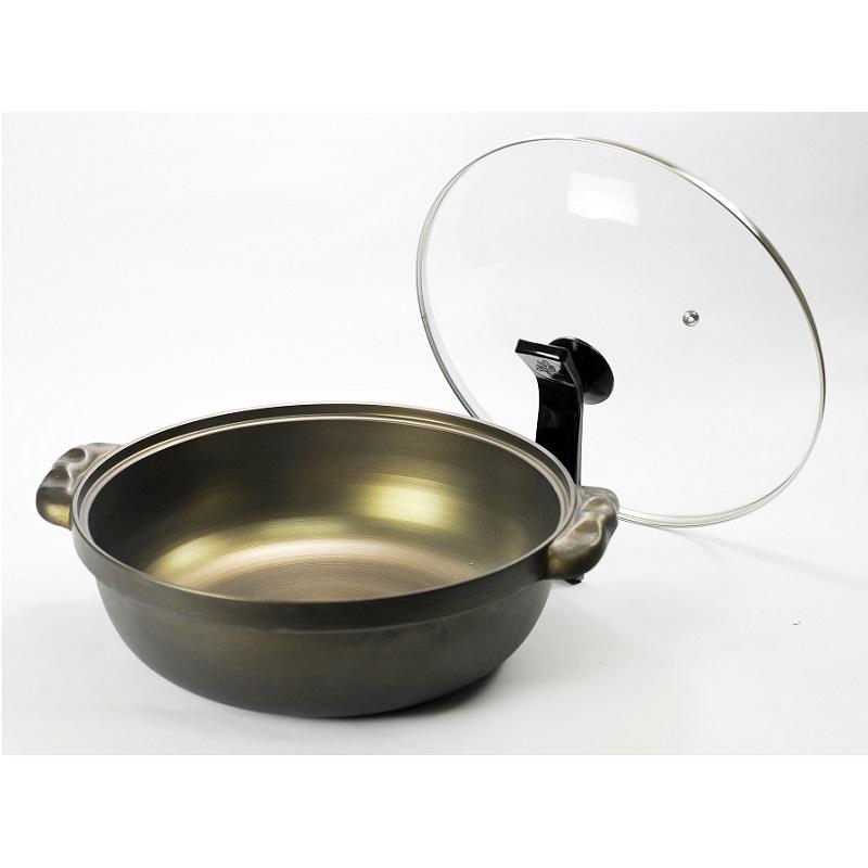 御膳坊30CM黃金鑄造湯鍋(附蓋)