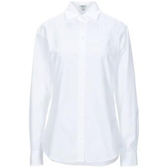 《セール開催中》KENZO レディース シャツ ホワイト 38 コットン 100%