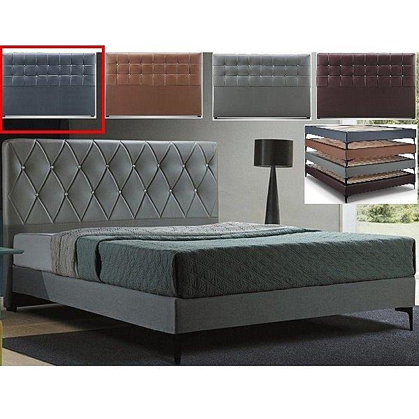 皮床 布床架 CV-169-22A 艾美6尺深灰色雙人床(不含床墊及床上用品)【大眾家居舘】