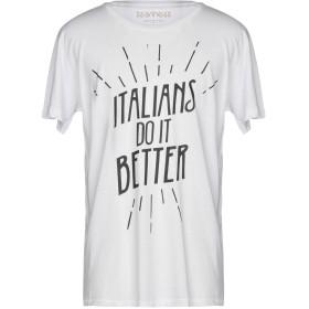 《セール開催中》HAPPINESS メンズ T シャツ ホワイト XL コットン 100%