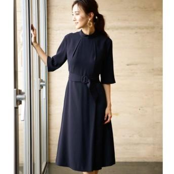 NEWYORKER / LITTLE NAVY DRESS collection/ベルテッドドレス