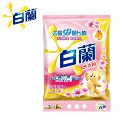 白蘭 含熊寶貝馨香精華洗衣粉4.25kg/袋-大自然馨香