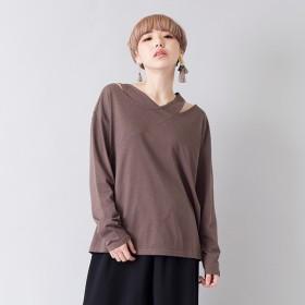 [マルイ] クロスネックTシャツ/オズモーシス(OSMOSIS)