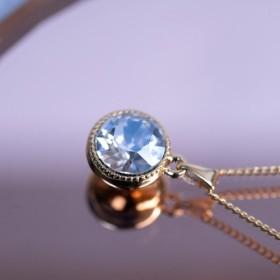 ダイヤモンドエフェクト ネックレス