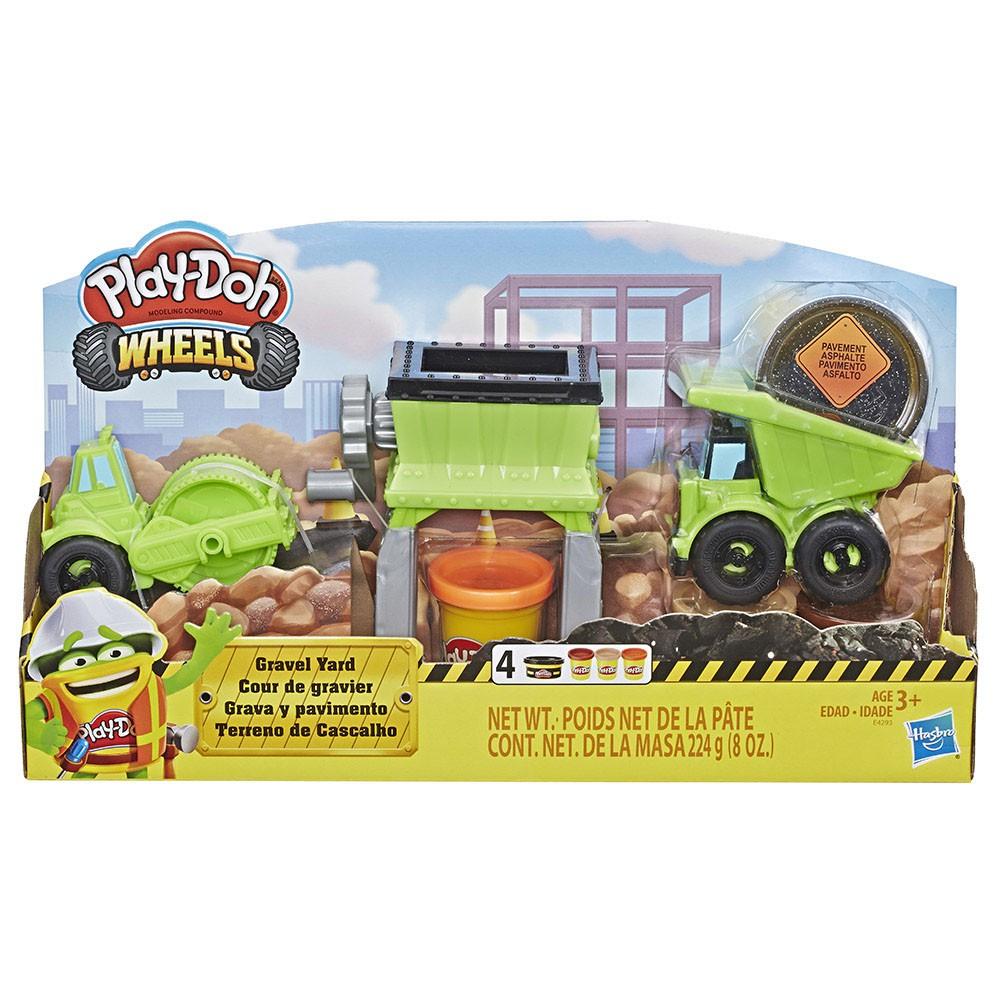【培樂多Play-Doh】創意DIY黏土 培樂多車輪系列 碎石場組 E4293